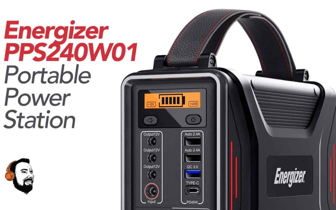 The Energizer PPS240W1 Review