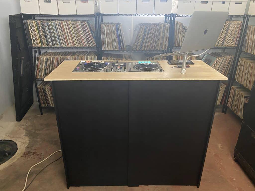 The full setup